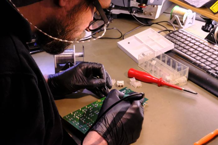 human error synth repair docter